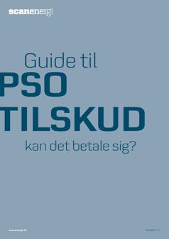 PSO afgift guide til reduktion