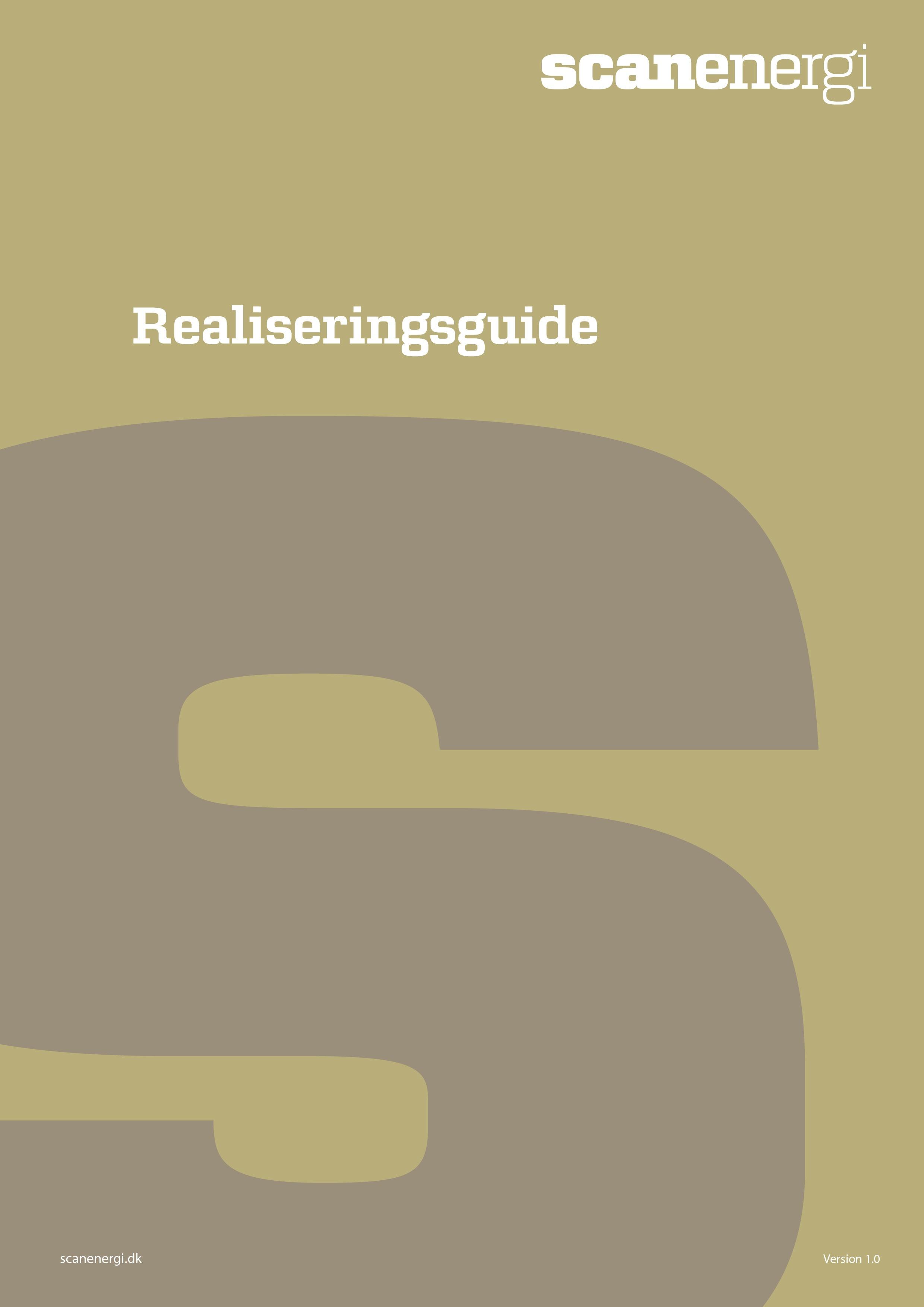 Guide til realisering af optimeringsprojekter
